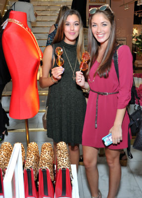 tori haughey in Stylewatch X Charming Charlie Collection Launch In NYC