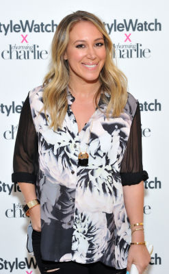 haylie duff in Stylewatch X Charming Charlie Collection Launch