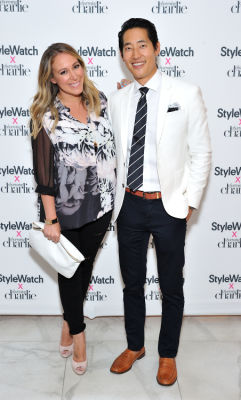 hailey duff in Stylewatch X Charming Charlie Collection Launch