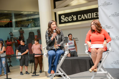 victoria perez in Inside The Back To School Fashion Show At The Shops at Montebello