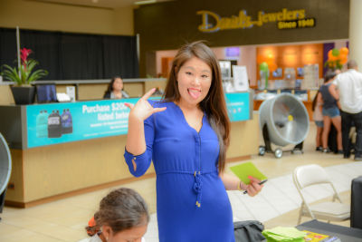 jacqueline cheng in Back to School Fashion Show at The Shops at Montebello