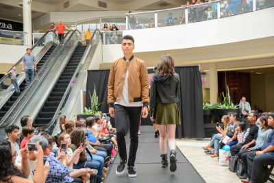 david beaird in Back to School Fashion Show at The Shops at Montebello