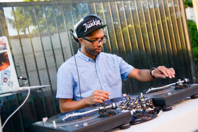 j rocc in Inside The Art-Filled Hansen's House Party At MVAD