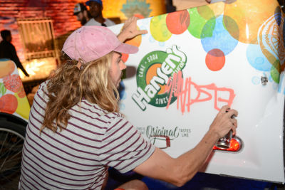 madsteez in Inside The Art-Filled Hansen's House Party At MVAD