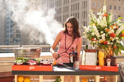 amanda miller in Guest of a Guest & Cointreau's Dallas Rooftop Soirée