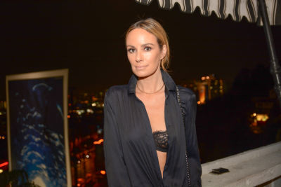 catt sadler in Journelle Hosts An Elegant Evening At The Chateau Marmont