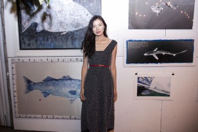 lily kwong in Oceana's Save the Last Sharks: Hosted by Loic Gouzer and Mikey DeTemple