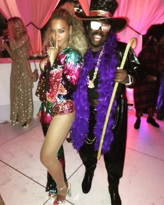 beyonce in Inside Beyoncé's Soul Train-Themed 35th Birthday Party In NYC