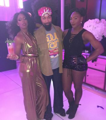 Kelly Rowland, Ty Hunter, Serena Williams