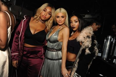 Jordyn Woods, Kylie Jenner, Tinashe
