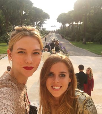 Karlie Kloss, Princess Beatrice