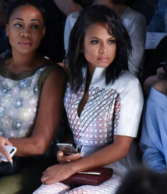 christina milian in The Freshest Front Row Faces Of Fashion Week