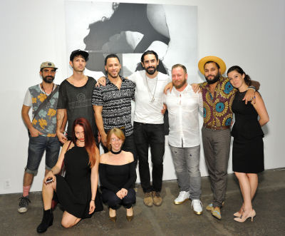 Not The Sum Of Its Parts exhibition opening at Joseph Gross Gallery