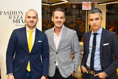 thomas szoeke in 1st Annual Fashion Week Shabbat Hosted by Jon Harari