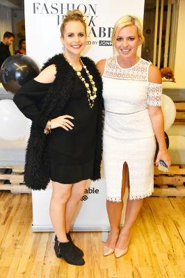 jacky luft in 1st Annual Fashion Week Shabbat