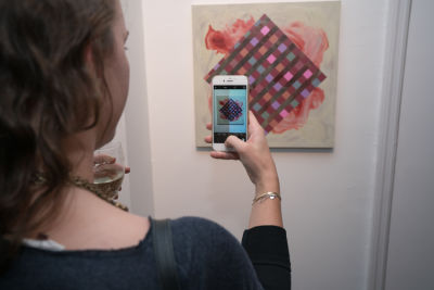 rebecca fogg in Voltz Clarke Gallery presents The Grid with guest curators Danielle Ogden and Emily McElwreath