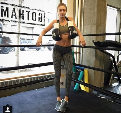 gigi hadid-3 in Where To Workout Like A Supermodel In NYC