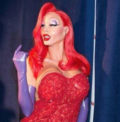 heidi klum in 15 Years Of Heidi Klum's Epic Halloween Costumes