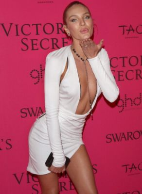candice swanepoel in 57 #NoBra Moments From Our Favorite Celebrities