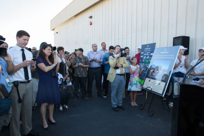 denay hawn in Canndescent Ribbon Cutting Event