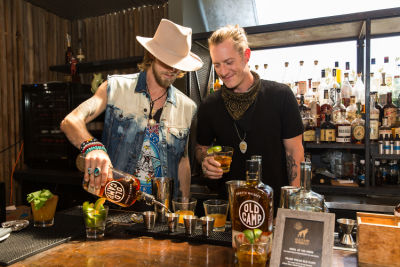 Florida Georgia Line Celebrates Old Camp Peach Pecan Whiskey in Los Angeles