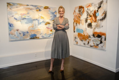 Voltz Clarke Gallery presents Mary Nelson Sinclair: Current Motion