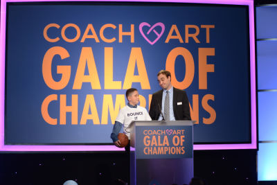angel in CoachArt Gala of Champions 2016