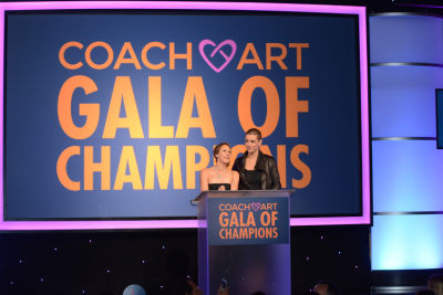leah bernthal in Inside The CoachArt Gala Of Champions 2016