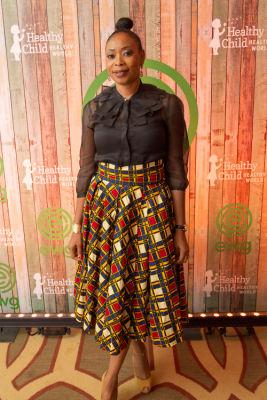 monalisa okojie in Ali Landry & Michelle Pfeiffer Attend Healthy Child Healthy World's L.A. Gala 2016