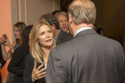 michelle pfeiffer in Healthy Child Healthy World's LA Gala 2016
