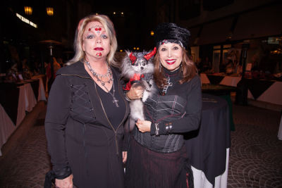 nola michaels in Bow Wow Beverly Hills Presents… 'A Night in Muttley Carlo' with James Bone, the Amanda Foundation Annual Halloween Fundraiser