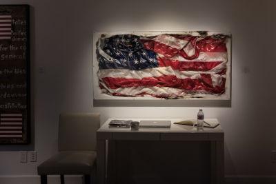 Bernie Taupin Debuts ANTIPHONA Exhibit at Waterhouse & Dodd in New York
