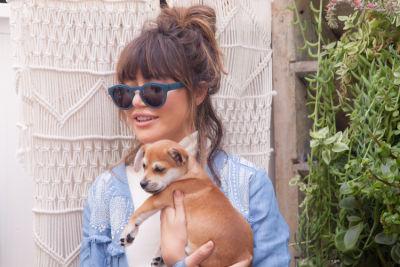 natalie boras in Mowgli Rescue & Rahicali's Furry Friendsgiving at The Butcher's Daughter