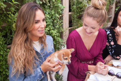 brittny ward in Mowgli Rescue & Rahicali's Furry Friendsgiving at The Butcher's Daughter
