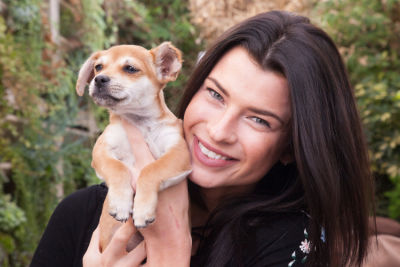 destiny sierra in Mowgli Rescue & Rahicali's Furry Friendsgiving at The Butcher's Daughter