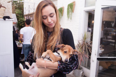 stephanie kay-meyer in Mowgli Rescue & Rahicali's Furry Friendsgiving at The Butcher's Daughter