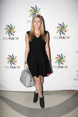 kathryn kerns in MoMath After Hours hosted by Stephen Powers