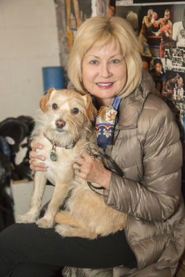 karen lock in Punches for Puppies: Mowgli Rescue's Fundraiser Event