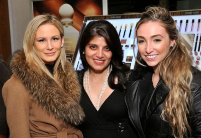 alison mcintyre in Dr. Lara Devgan Scientific Beauty Pop-up Shop & Holiday Reception at Bergdorf Goodman