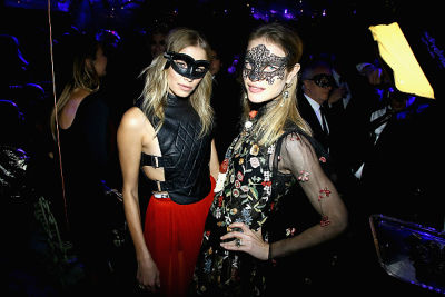 natalia vodianova in Kendall Jenner & Bella Hadid Party At Dior's Extravagant Masked Ball