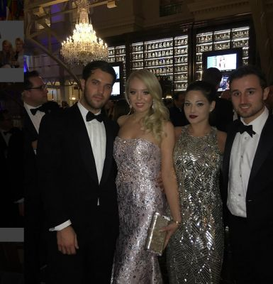 andrew warren in Rich Kids Of Instagram: Tiffany Trump & Friends Take Over The White House