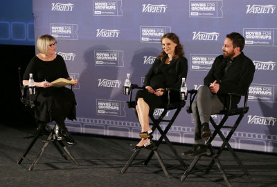 2016-2017 Variety and AARP Movies for Grownups Screening Series: Natalie Portman and Pablo Larrain Give Insight into