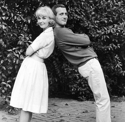 paul newman in The Most Iconic Couples Ever Talk Love