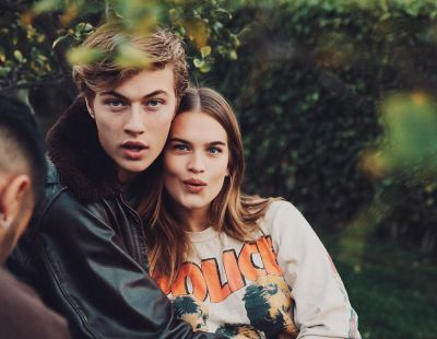 Lucky Blue Smith, Stormi Bree