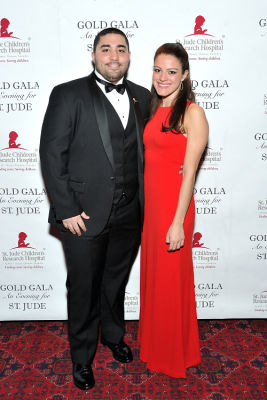 stephanie wank in 6th Annual Gold Gala: An Evening for St. Jude - Part 1
