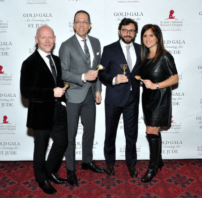 saverio mancina in 6th Annual Gold Gala: An Evening for St. Jude - Part 2