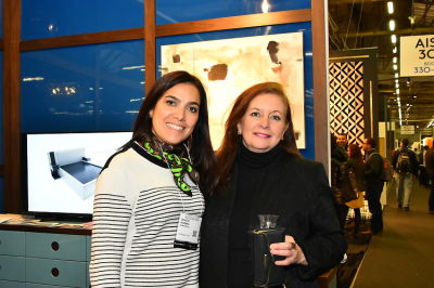anahi decanio in Naula Design 10 Year Anniversary at the Architectural Digest Design Show VIP Cocktail Party
