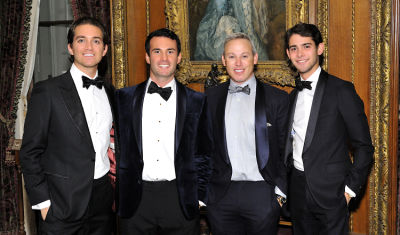 michael lorber in Best Dressed Guests: The Frick Collection Young Fellows Ball 2017