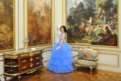 rebecca vanyo in The Frick Collection Young Fellows Ball 2017