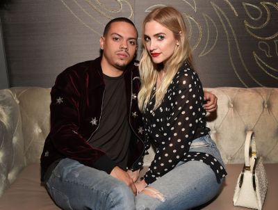 evan ross in TAO, Beauty & Essex, Avenue, and Luchini LA Grand Opening